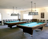 Billiard Room in the Clubhouse